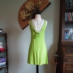 Vintage 60's mod mini dress! Twiggy Style!